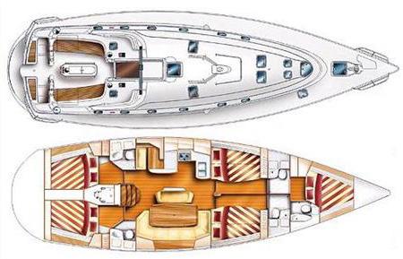 Parametry lodi Gib sea 51 - LADY BLUE